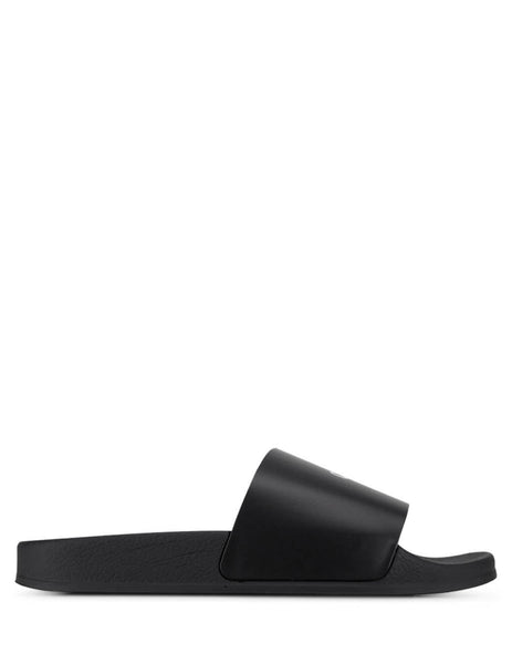 Off-White Women's Black Pool Sliders OWIA208R20H640681000