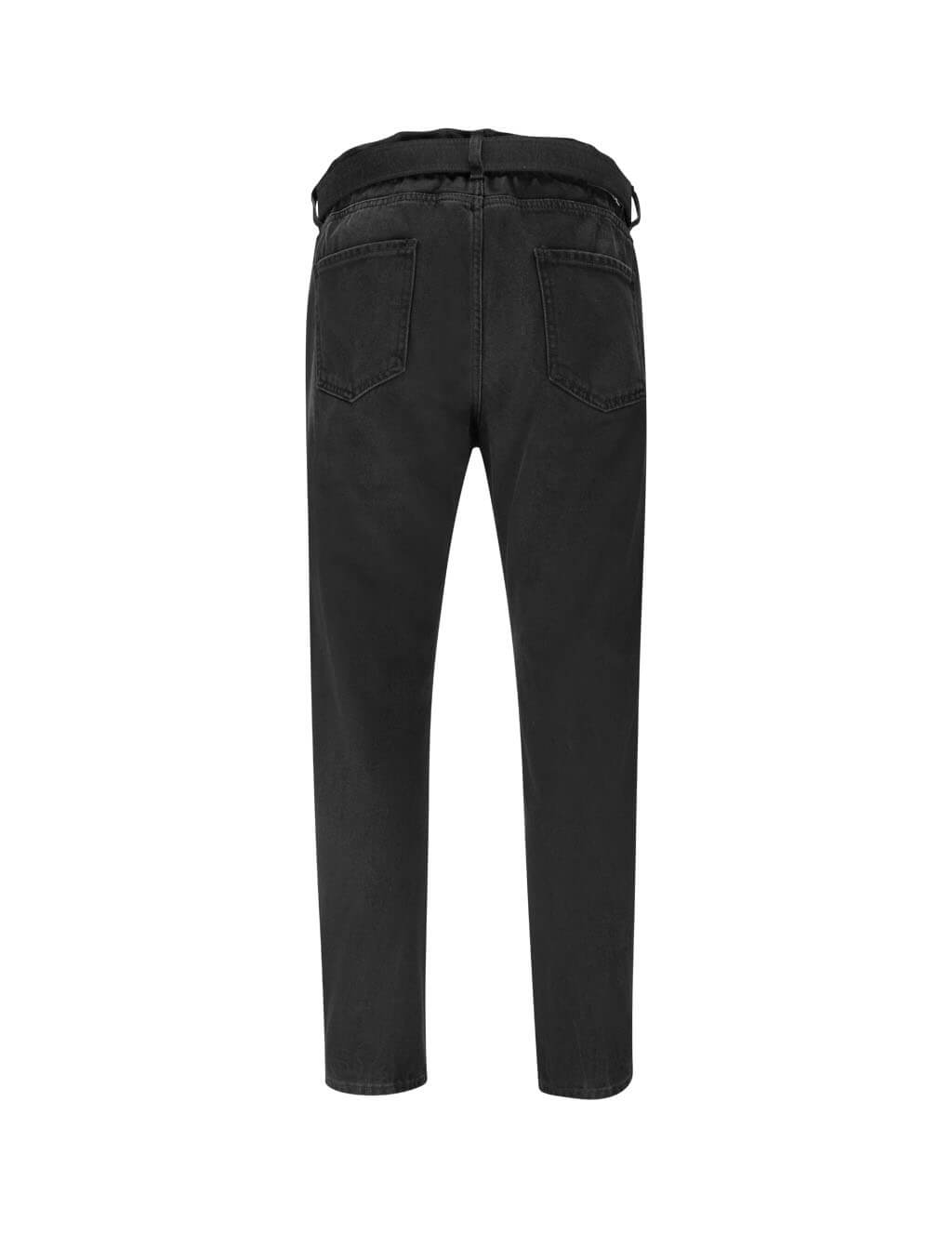 Off-White Men's Black Slim Low Crotch Jeans OMYA005R20E540271010