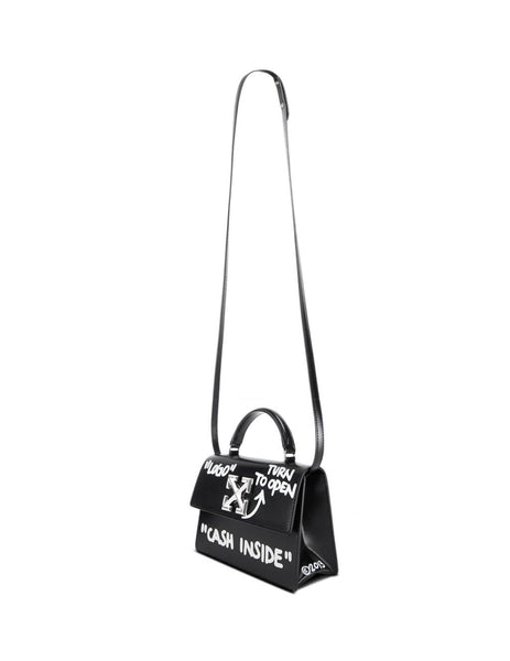Off-White Women's Giulio Fashion Black 1.4 Jitney Bag OWNA092E197191081001