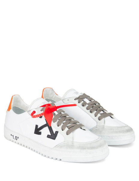 Off-White Men's Giulio Fashion White 2.0 Low Sneakers OMIA042E19D680480119