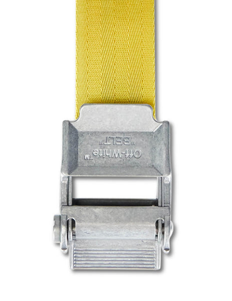 Off-White Men's Giulio Fashion Yellow 2.0 Industrial Belt OMRB012F19F420286010
