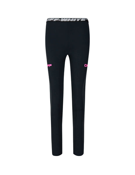 Off-White Women's Giulio Fashion Black Active Leggings OWCD009R20H810871028