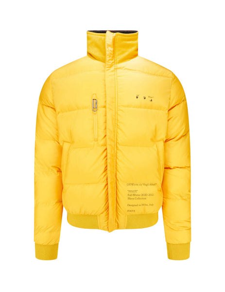Off-White Men's Giulio Fashion Arrow Reversible Light Puffer OMED024E20FAB0011001