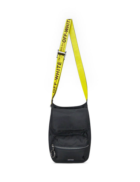 Off-White Men's Giulio Fashion Black Body Bag OMNA075E19E480021000