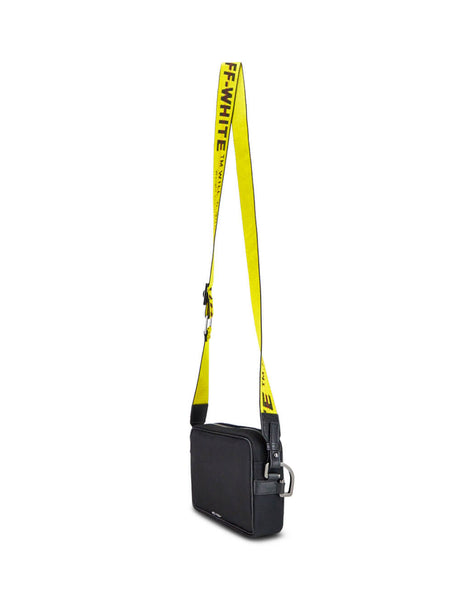 Off-White Men's Giulio Fashion Black Crossbody Bag OMNA049E19E480021000
