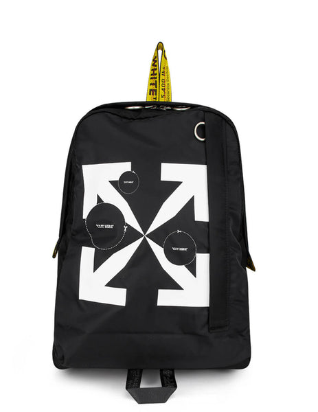 Off-White Men's Black Cut Here Easy Backpack OMNB019F20FAB0031001