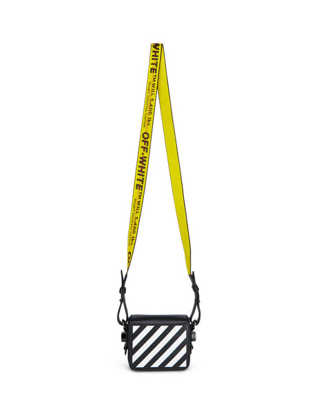 Off-White Women's Giulio Fashion Black Diag Baby Flap Bag OWNA087R204230691001