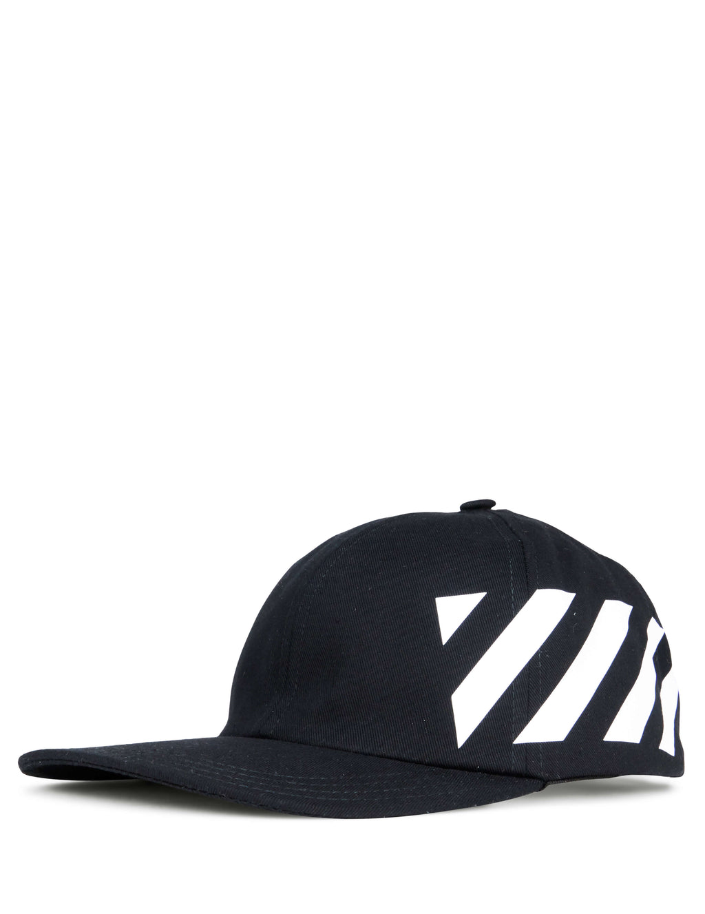 Off-White Men's Giulio Fashion Black Diag Cap OMLB008R194000321001