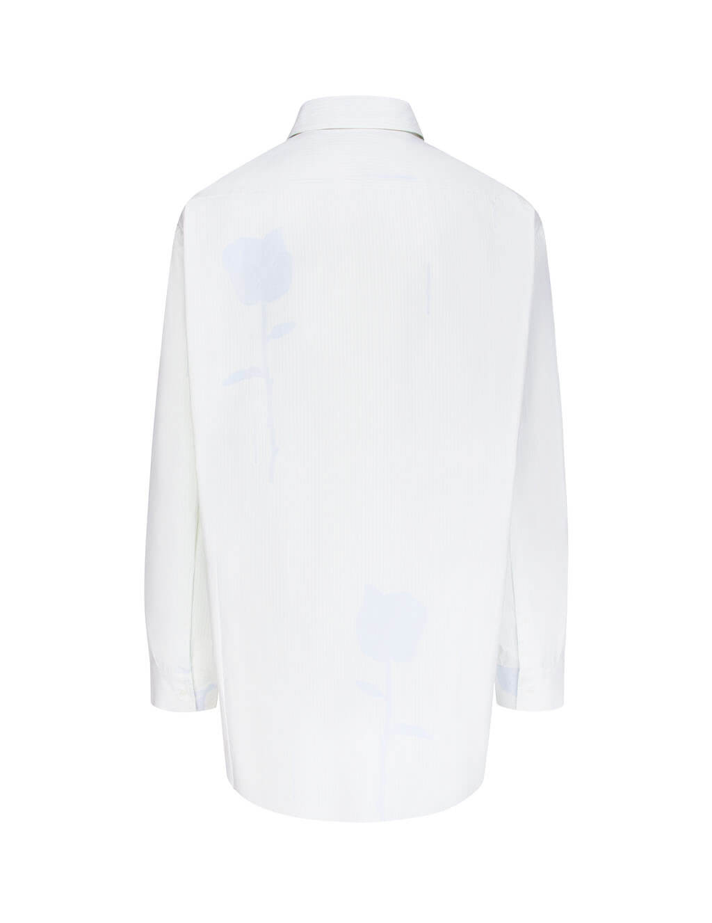 Off-White Men's Giulio Fashion White Floral Shirt OMGA094F19F360260110
