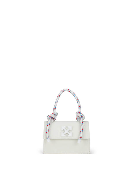 Off-White Women's Giulio Fashion White Gummy Jitney 1.4 Bag OWNA092R20H000680100