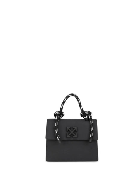 Off-White Women's Giulio Fashion Black Gummy Jitney 2.8 Bag OWNA090R20H000681000