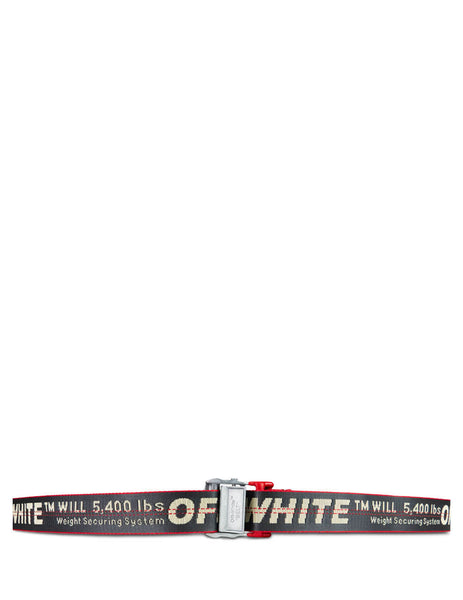 Off-White Men's Giulio Fashion Grey Industrial Belt OMRB012E196470020900