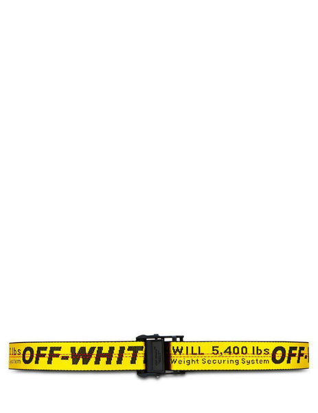 Off-White Women's Yellow Industrial Belt OWRB009R202230756010