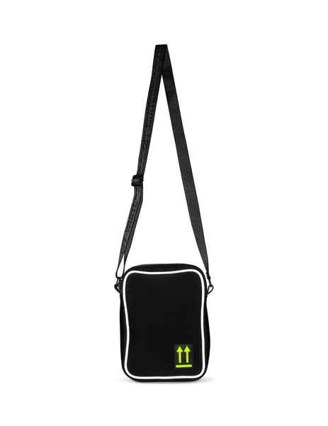 Off-White Men's Black Man Bag OMVN004R20A370011000
