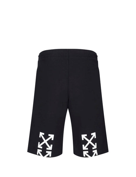 Off-White Men's Giulio Fashion Black Mariana De Silva Shorts OMCI006E19E300051088