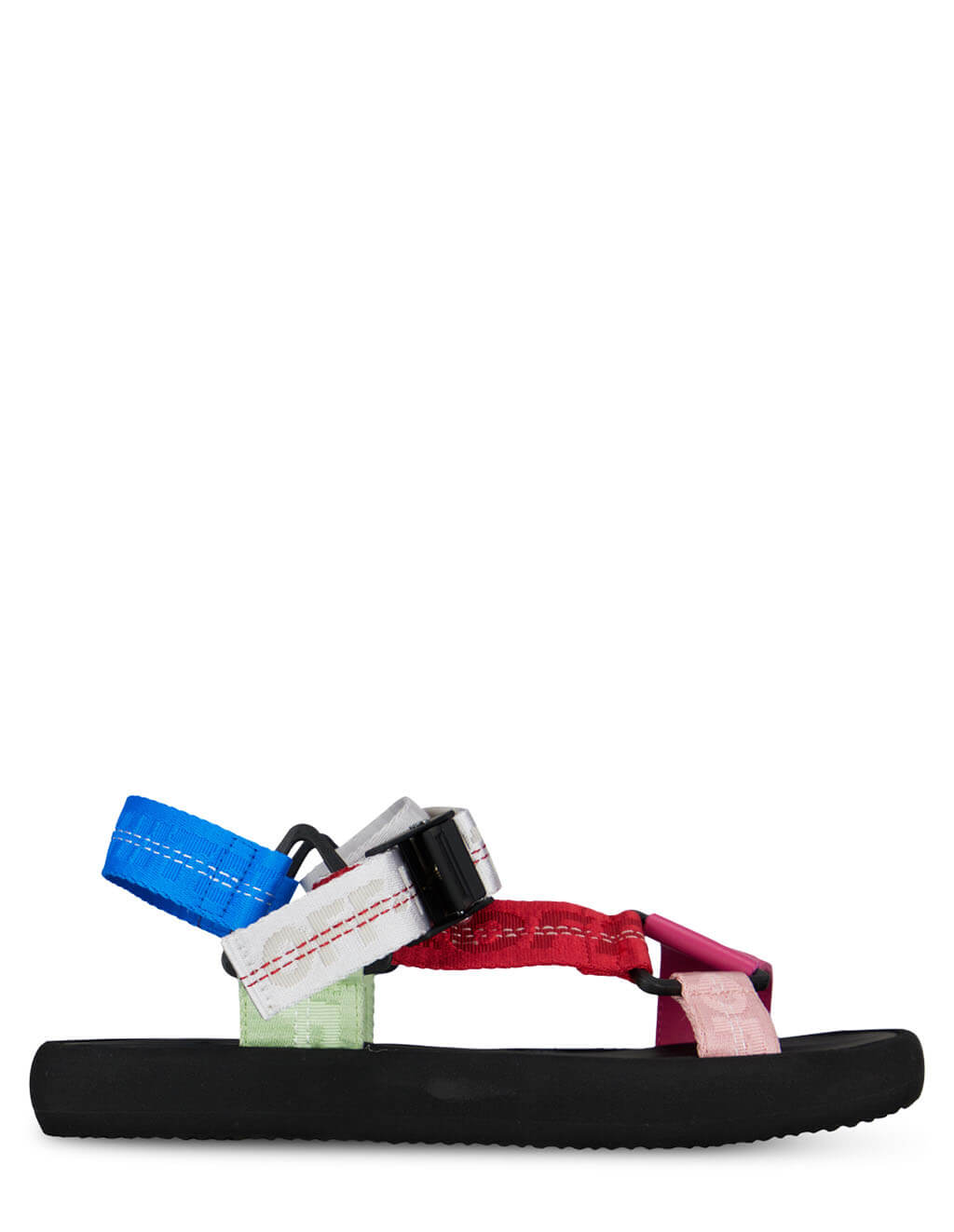 Women's Off-White Trek Sandals in Multicolour - OWIH007R21FAB0018400
