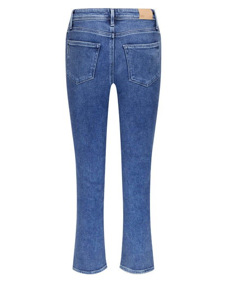 Cindy Exposed Button Jeans