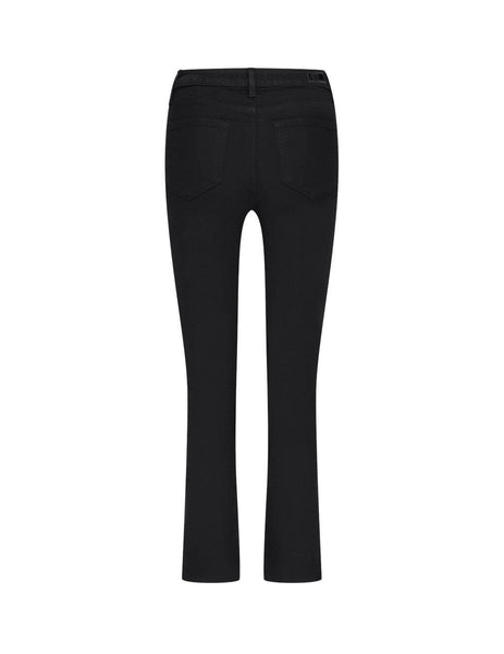 womens paige cindy raw hem jeans in black shadow 6126521-2139
