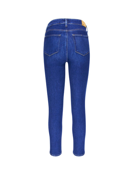 PAIGE Women's Giulio Fashion Blue Hoxton Slim Jeans 5277E776327
