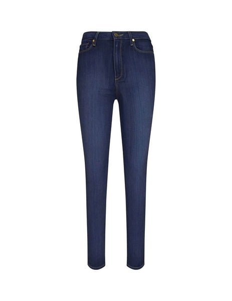 PAIGE Denim Margot Ultra-Skinny High Rise Jeans Whiskers Blue 20985213764 Women's Giulio Fashion