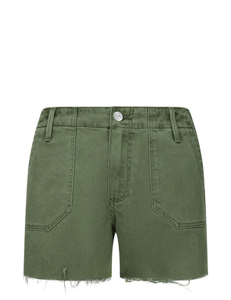 Women's Green PAIGE Mayslie Utility Shorts 5928C79-6338