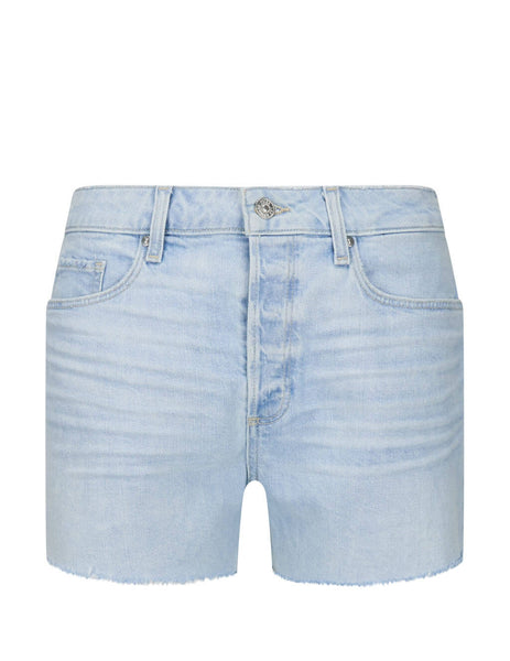Women's Blue PAIGE Noella Denim Shorts 6041635-8561