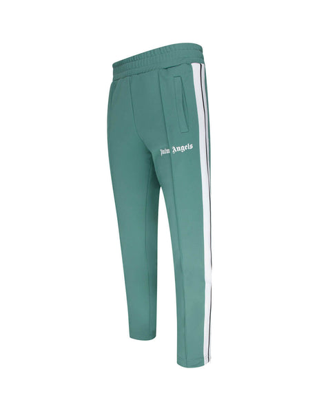Men's Pine Green Palm Angels Slim Track Pants PMCA023E20FAB0015901