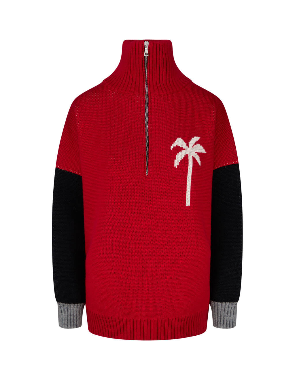 Women's Palm Angels PXP Jumper in Red - PWHE011F20KNI0012501