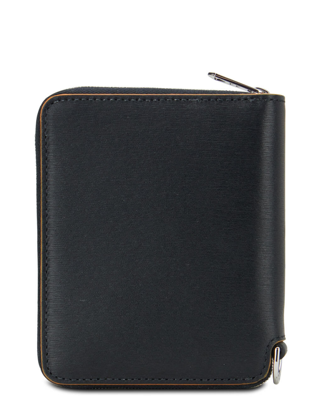 Men's Paul Smith Contrast Interior Zip-Around Wallet in Black - M1A-6702-FSTRGS-78A