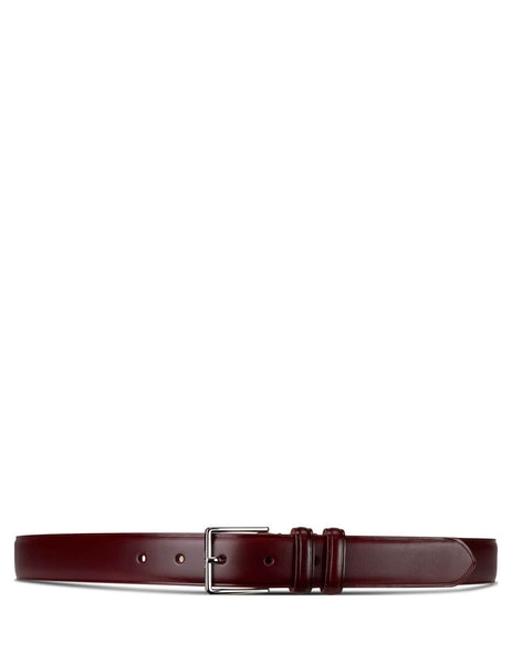 Paul Smith Men's Giulio Fashion Burgundy Double Keeper Classic Belt M1A-4946-ASUIT-28