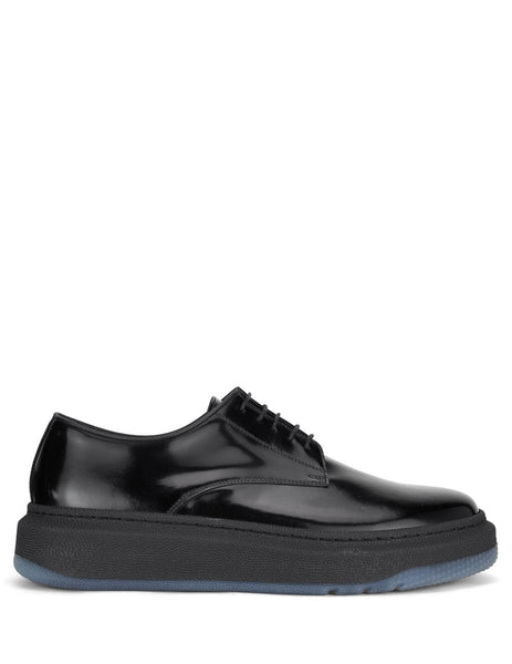 Men's Paul Smith Soane Leather Derby Shoes in Black - M1S-SOA01-EHSH-79