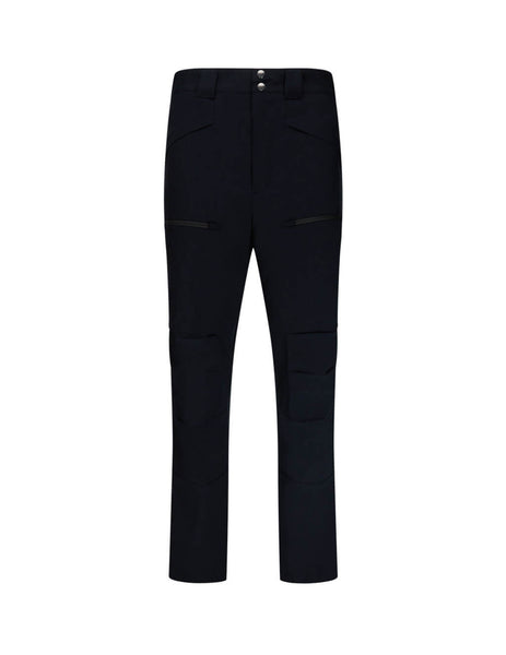 Men's Dark Navy Paul Smith Wool-Blend Cargo Trousers M1R-989T-A01002-49