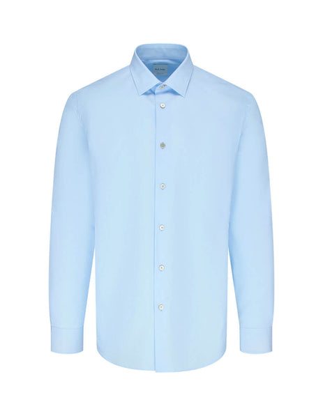 Paul Smith Men's Giulio Fashion Blue Artist Stripe Cuff Shirt M1R-800P3-D00050-40