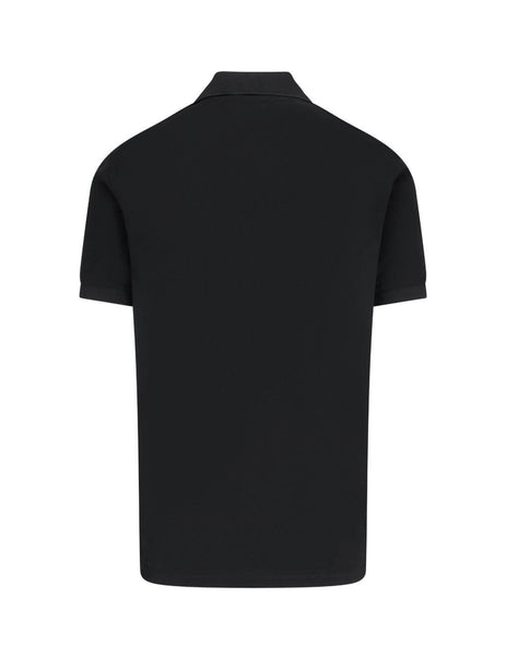 Paul Smith Men's Giulio Fashion Black Artist Stripe Placket Polo Shirt M1R-698PP-D00086-79