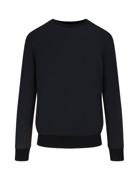 Paul Smith Men's Giulio Fashion Black Artist Stripe Sweatshirt M1R302SD0003579