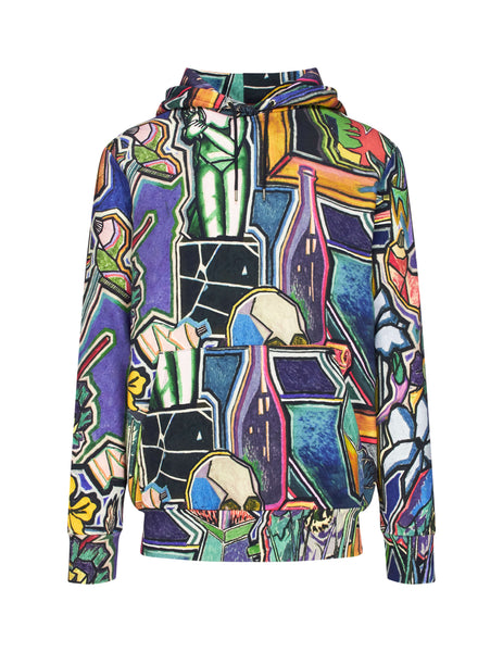 Paul Smith Men's Giulio Fashion Purple Artist Studio Print Hoodie M1R180TAP122092