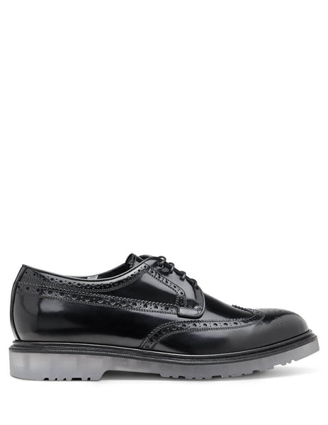 Paul Smith Men's Giulio Fashion Black Clear Sole Brogue M1SCRI09ACHSH79