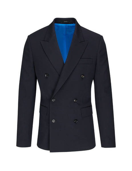 Paul Smith Men's Giulio Fashion Navy Double Breasted Suit M1R-1855-A01031-49