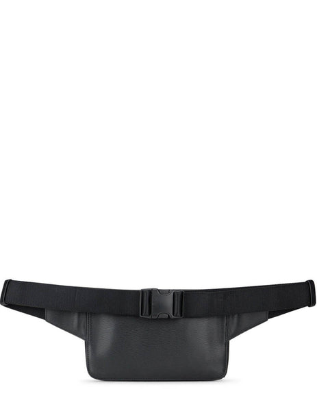 Men's Paul Smith Embossed Waist Bag in Black - M1A-6325-A40190-79