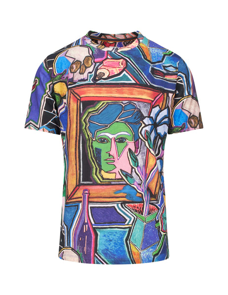 Paul Smith Men's Giulio Fashion Blue Gents T-Shirt M1R697PAP122092