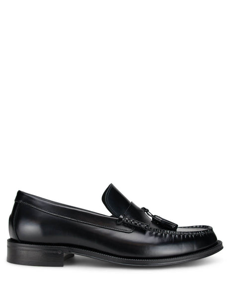 Men's Black Paul Smith 'Lewin' Leather Loafers M1S-LEW01-ATEC-79