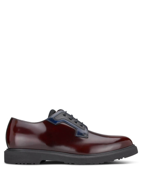 Paul Smith Men's Giulio Fashion Burgundy Mac Brogues M1S-MAC02-AHSH-28