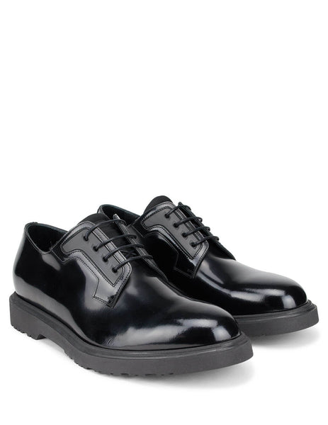 Paul Smith Men's Giulio Fashion Black Mac Derby Shoes M1S-MAC01-AHSH-79