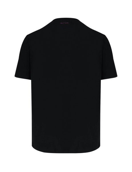 Men's Black Paul Smith Rabbit T-Shirt M1R-919T-AP1794-79