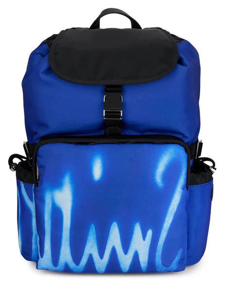 Spray Print Backpack
