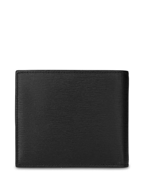 Paul Smith Men's Giulio Fashion Black Striped Interior Leather Wallet M1A4832ASTRGR79