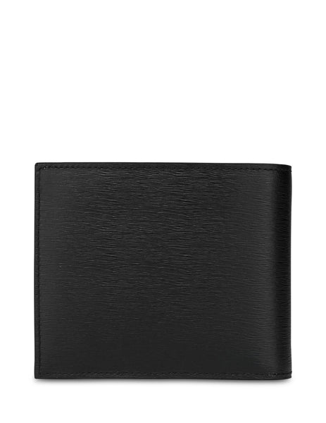 Paul Smith Men's Giulio Fashion Black Striped Interior Leather Wallet M1A4833ASTRGR79