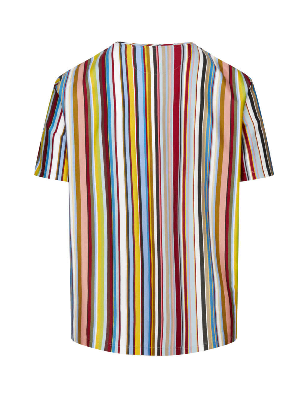 Men's Multicolour Paul Smith Striped T-Shirt M1R-919T-E01176-92