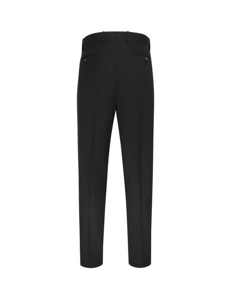 Paul Smith Men's Giulio Fashion Black Tapered Formal Trousers M1R909TA0098779