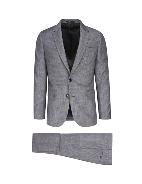 Paul Smith Men's Giulio Fashion Grey Woven Tailored Suit M1R1439A0074270